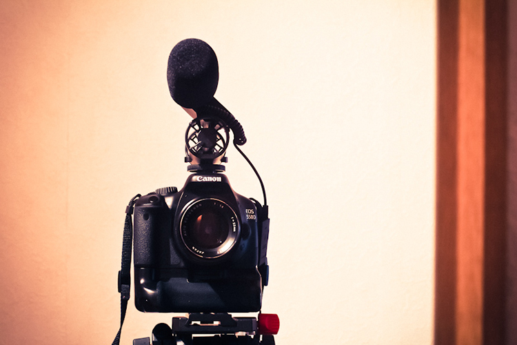 die lichtfänger Filmen mit Spiegelreflex