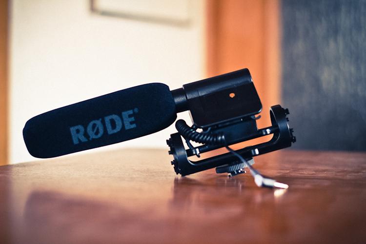 die lichtfänger Filmen mit Spiegelreflex Rode Mic
