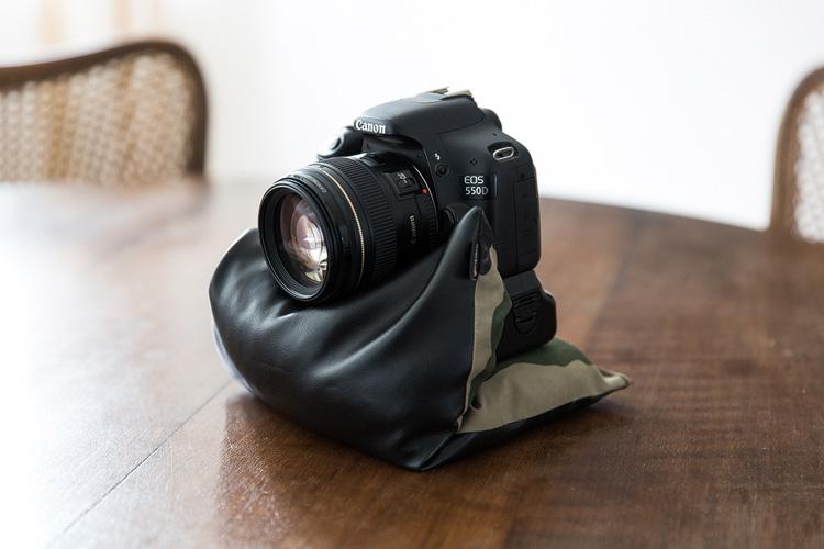 die lichtfänger Filmen mit Spiegelreflex Steadybag
