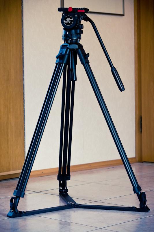 die lichtfänger Filmen mit Spiegelreflex Stativ
