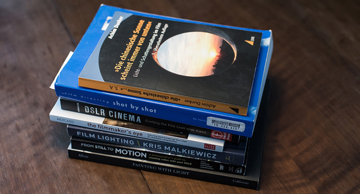 die lichtfänger Filmen mit Spiegelreflex Literatur