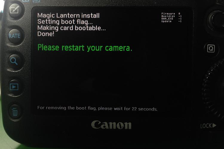die lichtfänger Magic Lantern auf der 5D