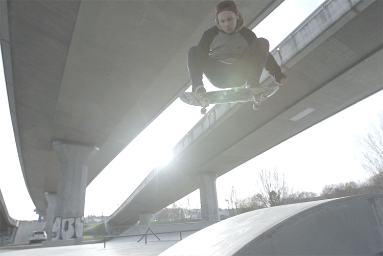 die lichtfänger Skatepark in Ulm