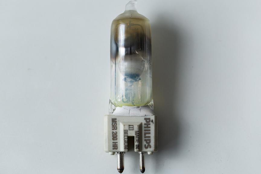 HMI Lampen kaputter Brenner