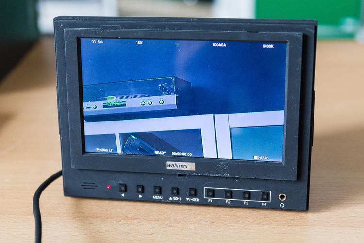 die lichtfänger Walimex Monitor