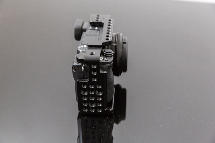 die lichtfänger Body mit Cage Sony A6300