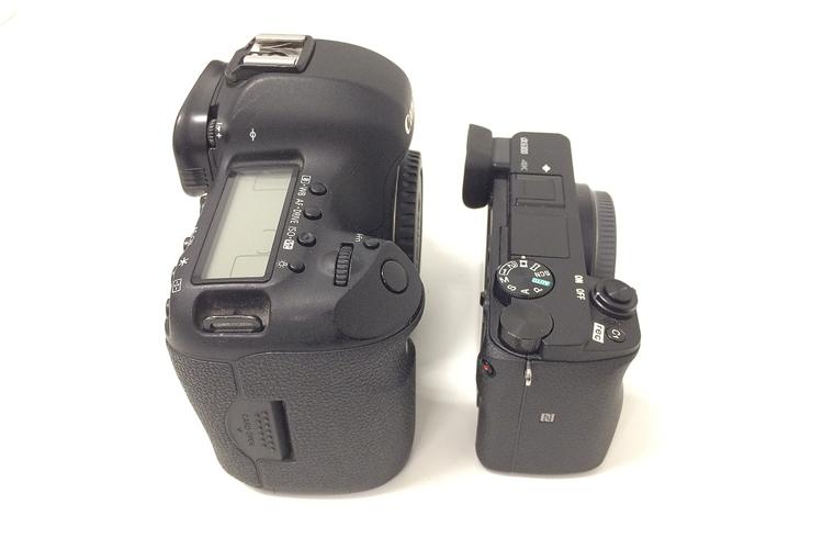 die lichtfänger Vergleich 5D und Sony A6300