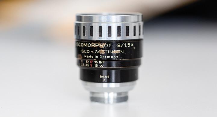 die lichtfänger Iscomorphot 8