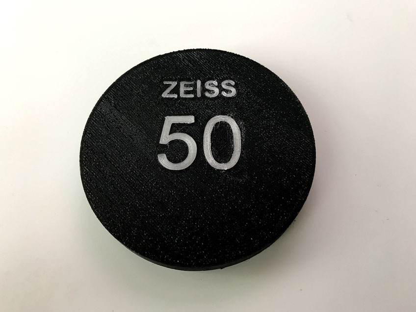 Zeiss contax cine mod Lenscap
