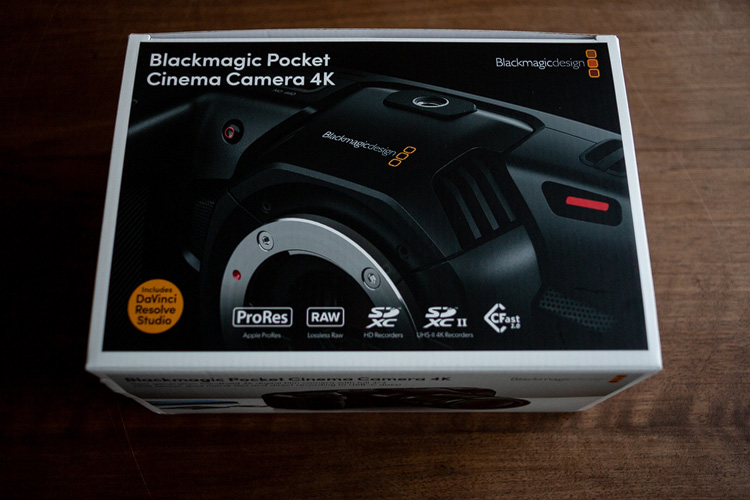 die lichtfänger Blackmagic Pocket Cinema Camera 4K