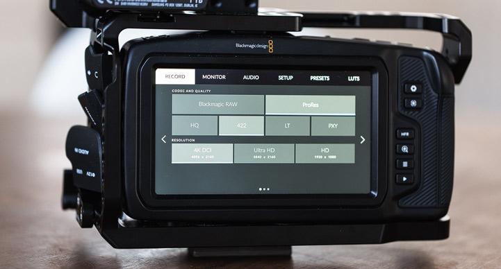 die lichtfänger Blackmagic Pocket 4K Bild