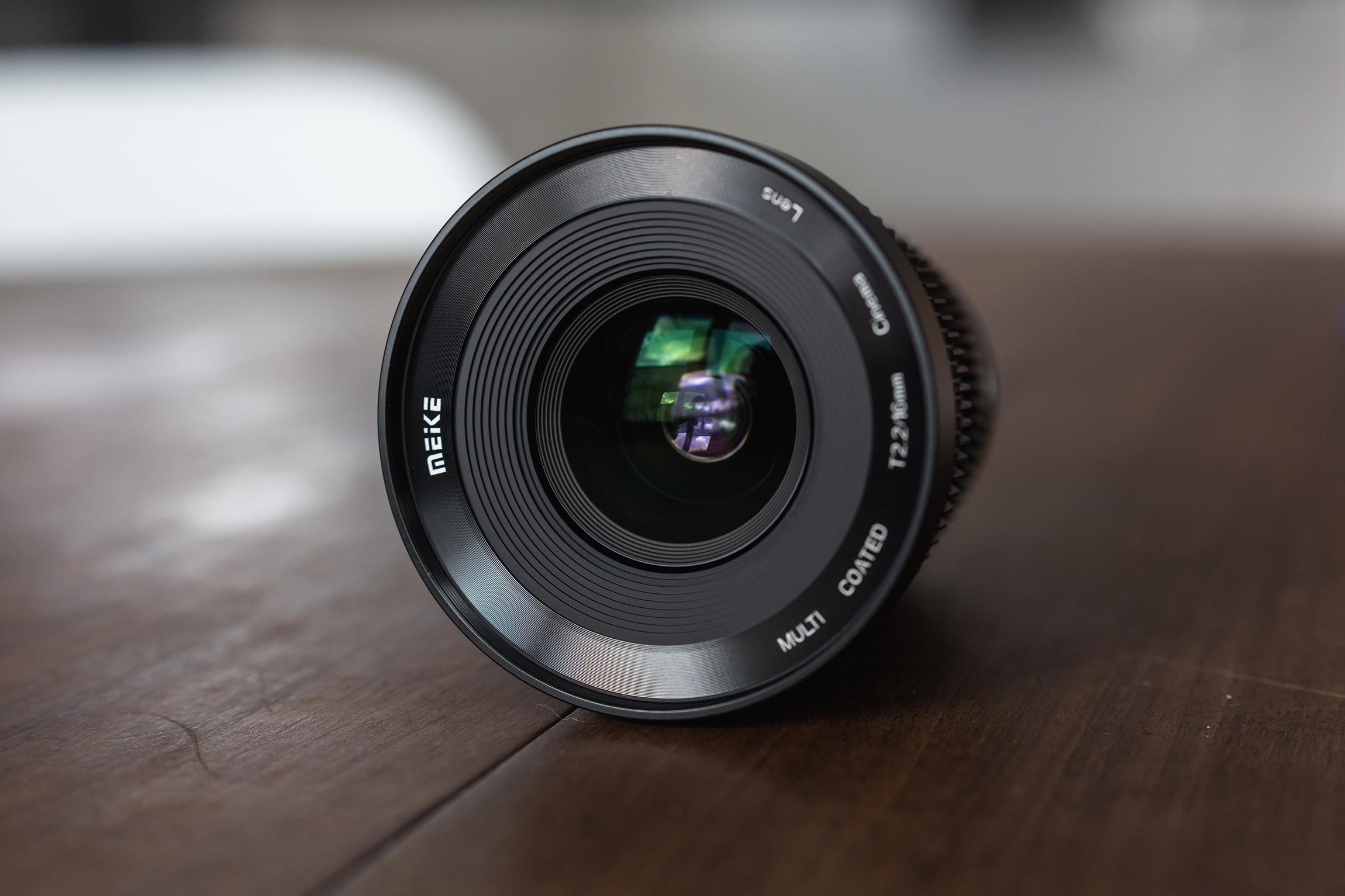 die lichtfänger Meike 16mm Cine Lens
