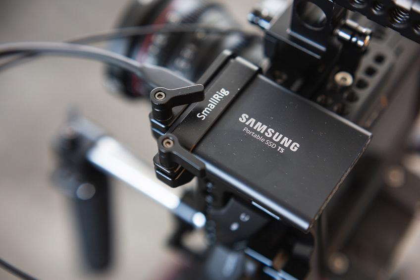 die lichtfänger BMPCC4K Rig SSD Halterung