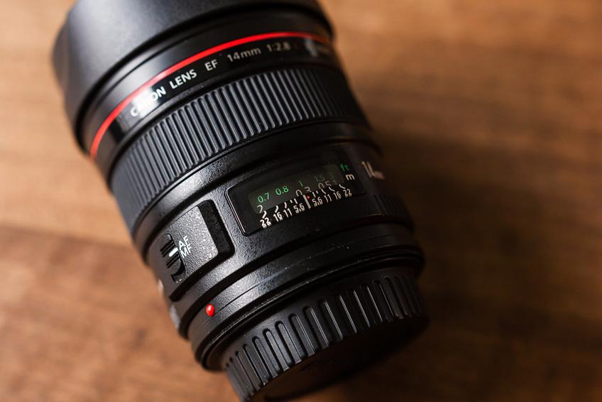 DLF Canon 14mm F2,8 L