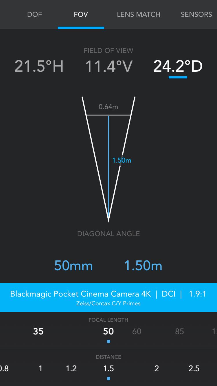 f8 tiefenschärfe app