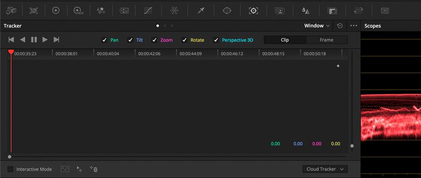 DLF DaVinci Resolve Color Tab Tracker