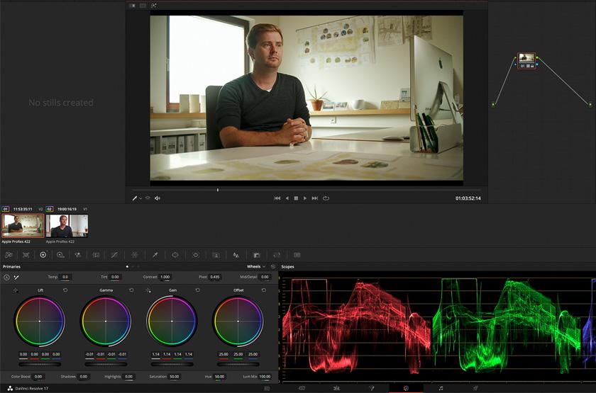 DLF DaVinci Resolve Multicam ColorGrade