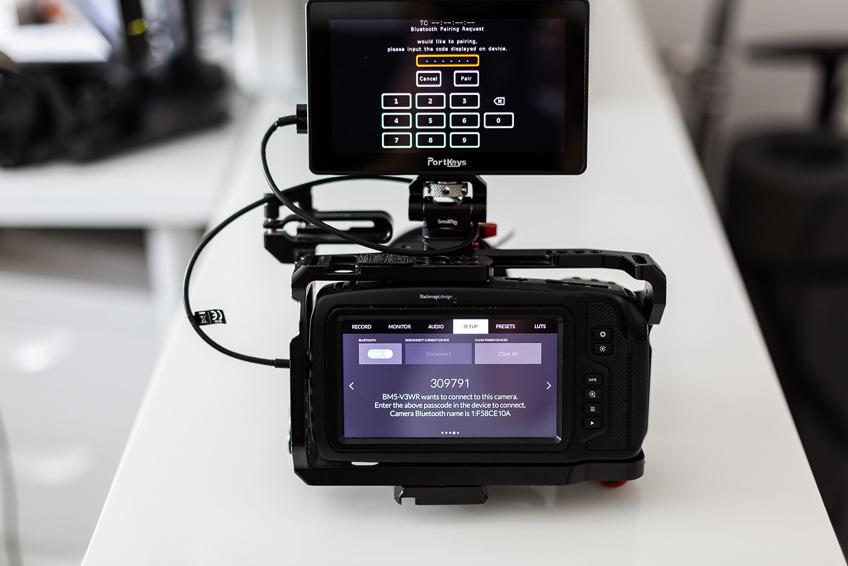 DLF Portkeys bm5 mit pocket4k verbinden